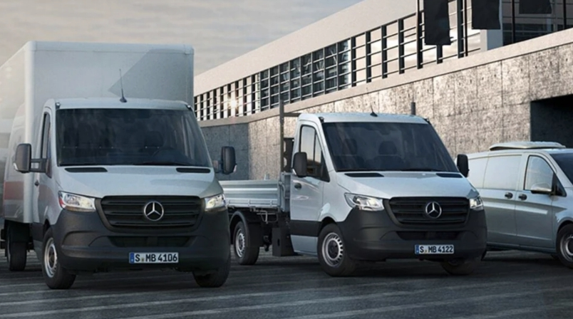 Коммерческий транспорт Mercedes-Benz