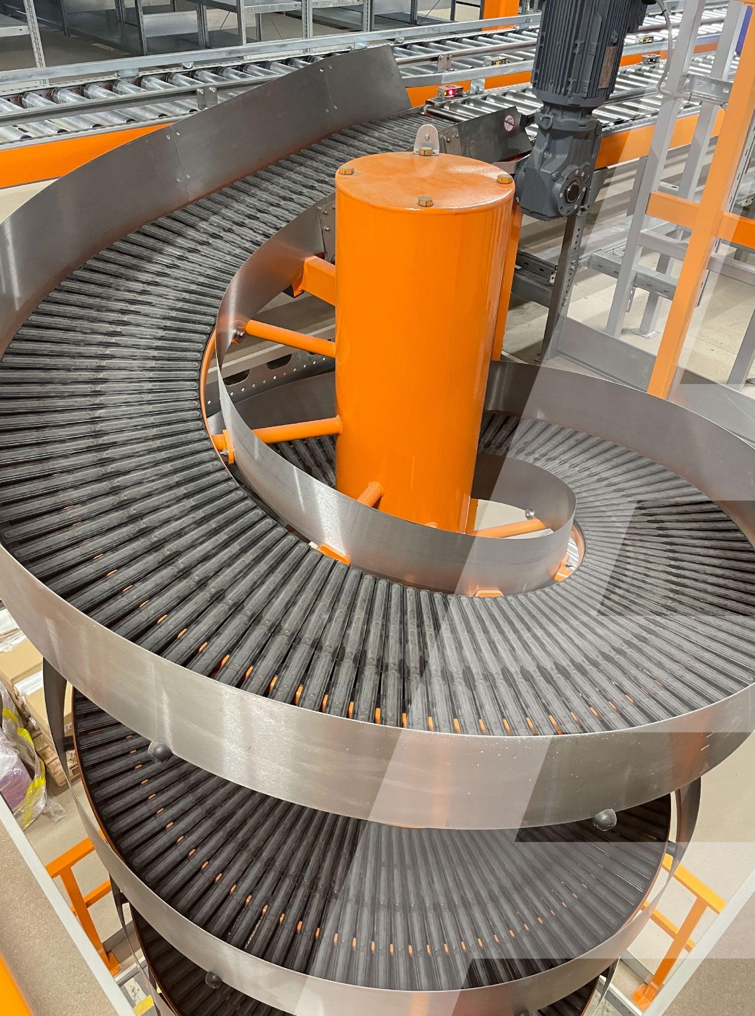 Спиральные конвейеры: преимущества, особенности выбор